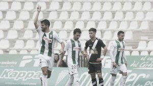 Córdoba CF - Rayo Vallecano: puntuaciones del Córdoba CF, jornada 18 de La Liga 1,2,3