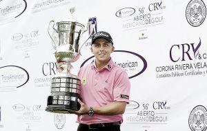 Óscar David Álvarez, campeón del Abierto Mexicano de Golf
