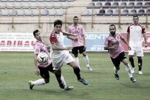 Gonzalo anota el gol de la Jornada 6 de Segunda División B
