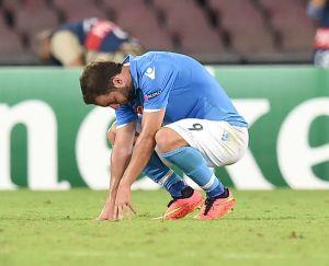 Napoli verso l'Europa League, Higuain in forse