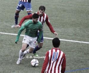 El Sporting B comienza ganando ante un Guijuelo sin rumbo