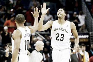 Los New Orleans Pelicans no podrán contar con Davis y Gordon para sus dos últimos partidos