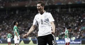 Com dois de Goretzka, Alemanha goleia México e avança à final da Copa das Confederações