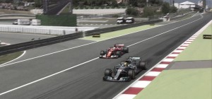 Hamilton gana en España, Sainz clasifica séptimo y Alonso termina la carrera