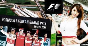 Descubre el GP de Corea de F1