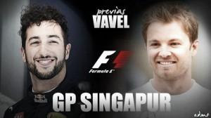 Previa GP Singapur: dos estrellas luchan por brillar en la noche
