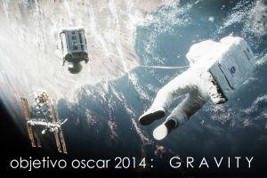Objetivo OSCAR 2014: 'Gravity'