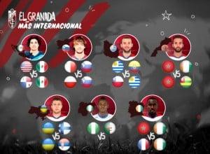 Nueve jugadores del Granada CF regresan tras jugar con sus selecciones