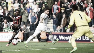 Bournemouth 3-2 Swansea City: Cherries edge out Swans to move closer to safety