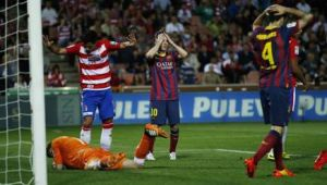 Incubo Barça, perde anche contro il Granada