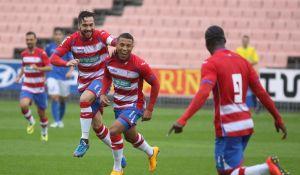 Chaparrón de goles del Granada B a La Roda