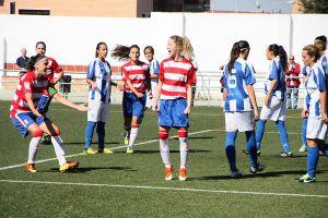 Segunda victoria con goleada del Granada Femenino al Sporting de Huelva