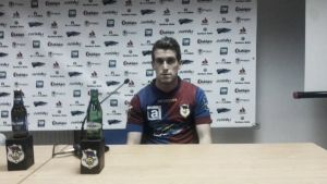 "Borja Granda: ""No me lo pensé ni un instante venir al Langreo"""