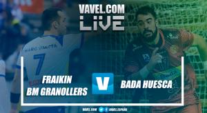 Resumen Fraikin BM Granollers vs Bada Huesca en Liga Loterías ASOBAL 2017/2018 (31-26)