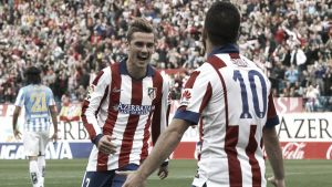 Málaga 2-2Atlético Madrid: Griezmann double rescues draw forAtlético