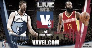 Memphis Grizzlies vs Houston Rockets en vivo y en directo online