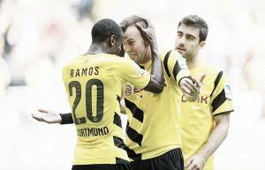 Grosskreutz guía al Dortmund en el regreso de Kagawa