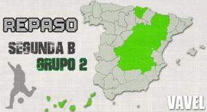 Resumen 2ªB. Grupo II, jornada V: primera derrota del Castilla