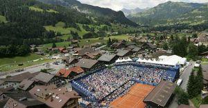 El tenis en el corazón de los Alpes