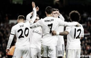 Real Madrid - Celta: puntuaciones del Madrid, jornada 18