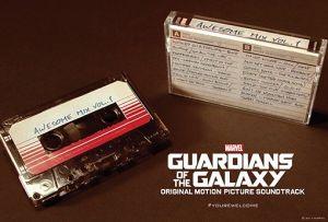 La banda sonora de 'Guardianes de la galaxia' se venderá en cintas de cassette