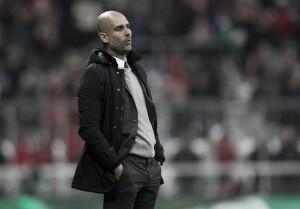 Guardiola se diz satisfeito com atuação do Bayern na goleada sobre Olympiacos