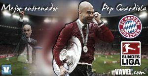 Mejor entrenador de la Bundesliga 2013/2014: Pep Guardiola