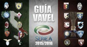 Guía VAVEL de la Serie A 2015/16