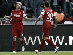 Hertha Berlin 0-2 Freiburg: Visitors gain valuable three points