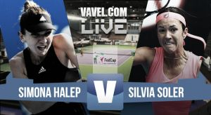 Simona Halep vs Silvia Soler, tenis en vivo y en directo online