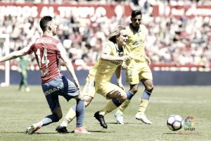 Las Palmas vuelve a pinchar contra un equipo de la zona baja