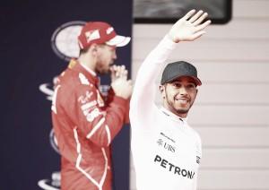 Hamilton es el poleman en China