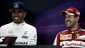 Hamilton y Vettel descartan a Alonso como compañero