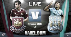 Risultato partita West Ham - Manchester City in diretta, live Premier League
