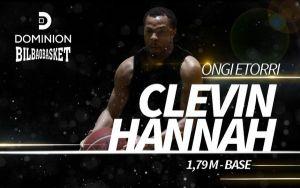 Hannah es el nuevo jugador del Bilbao Basket