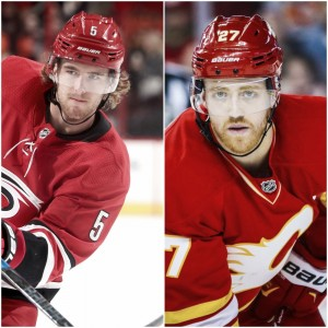 Carolina Hurricanes, Calgary Flames work draft day deal