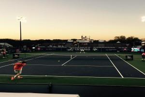 Irving Tennis Classic: Andrey Rublev Wins Wild Nightcap Over Ryan Harrison