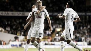 Victoria plácida y grupo asequible para el Tottenham en Europa