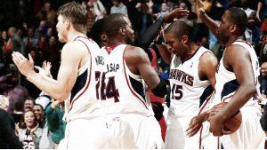 Los Hawks, primer equipo en asegurarse plaza para playoffs