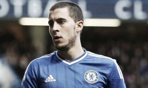 Eden Hazard happy at Chelsea