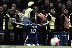 Chelsea 2-2 Tottenham Hotspur: Late Hazard equaliser seals title for Leicester