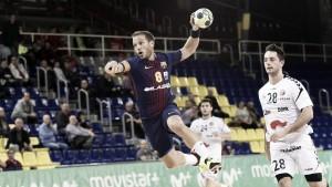 El Barça no pierde comba ante un luchador Ciudad Encantada