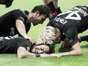 Bayer Leverkusen 2-2 CSKA Moscow: Four goals in the first half sees both end with a point