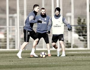 Último entrenamiento y convocatoria del Real Madrid ante la Real Sociedad