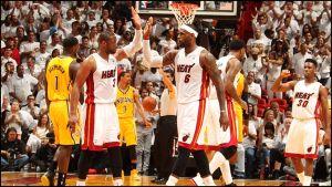 James e Bosh schiacciano i Pacers, le Finals sono vicine