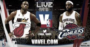 Miami Heat vs Cleveland Cavaliers en vivo y en directo online