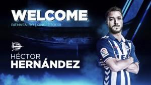 El Alavés incorpora a Héctor Hernández