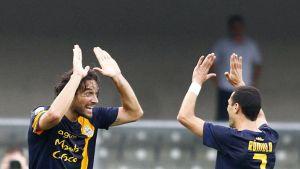 Dos asistencias de Rómulo devuelven al Hellas Verona a puestos europeos