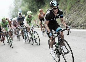 Sergio Luis Henao se vistió de líder en la Vuelta al País Vasco