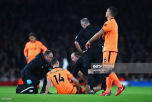 Liverpool facing midfield depth issues with Jordan Henderson looking at February return